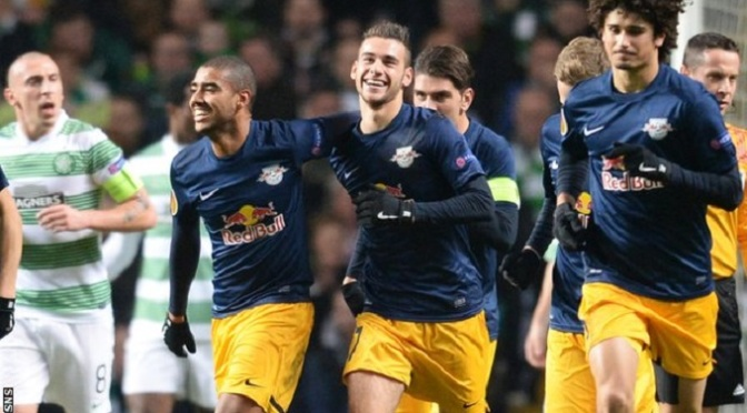 Europa League: Celtic 1-3 FC Red Bull Salzburg