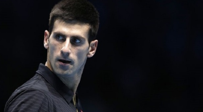 Tennis: ATP Finals: Novak Djokovic destroys Stan Wawrinka