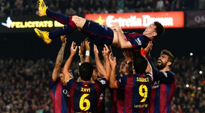 La Liga: Messi breaks La Liga goalscoring record