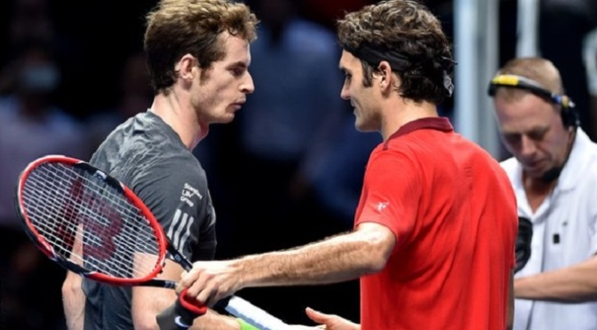 Tennis: ATP Finals: Andy Murray knocked out by Roger Federer