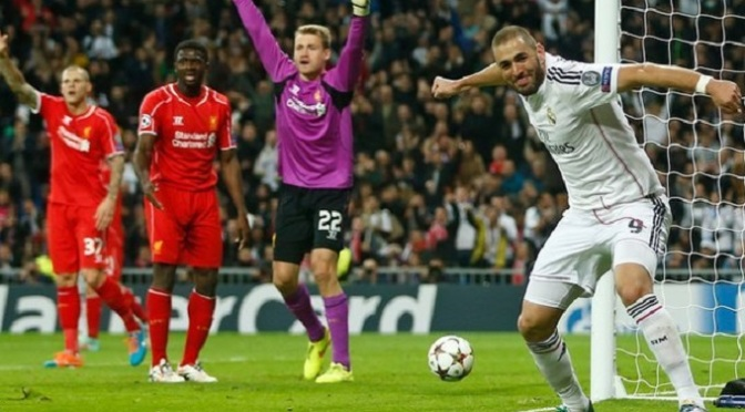 Champions League: Real Madrid 1-0 Liverpool