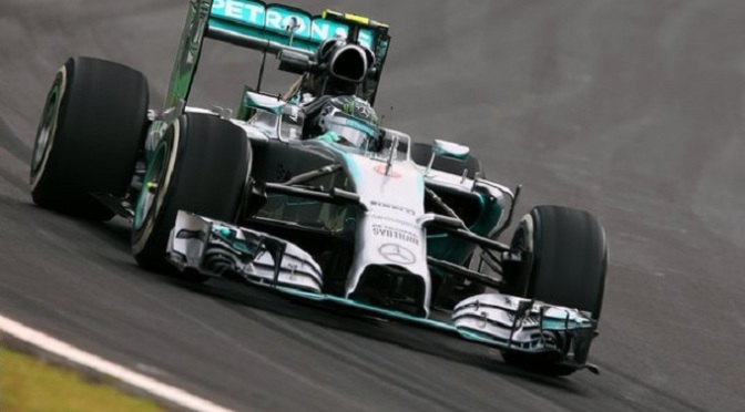 F1: Rosberg leads Hamilton in first Brazil practice