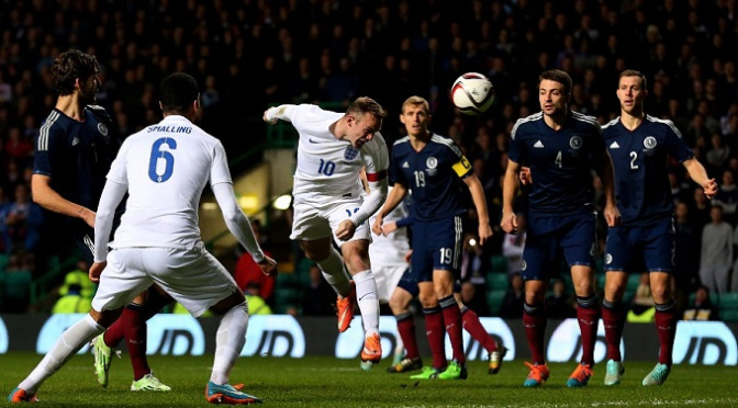 International Friendly: Scotland 1-3 England