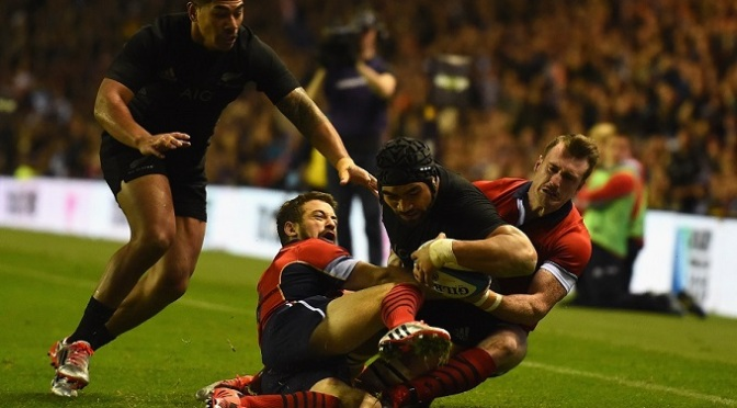 Rugby Union: Scotland 16-24 New Zealand
