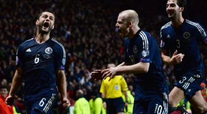 Euro 2016 Qualifying: Scotland 1-0 Republic of Ireland