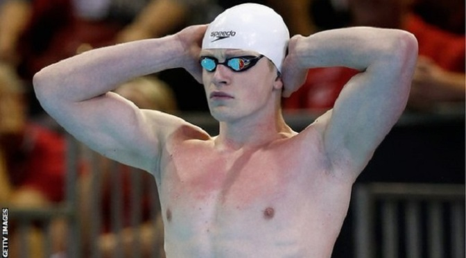 Swimming: Doha Worlds: Adam Peaty breaks breaststroke British record