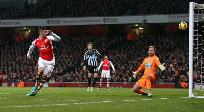 Premiership: Arsenal 4-1 Newcastle