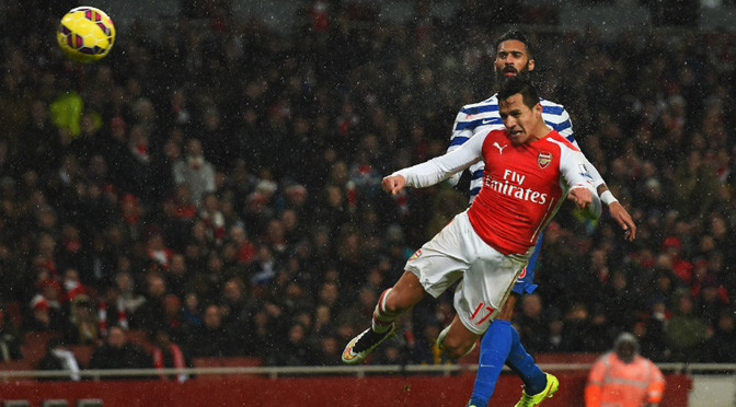 Premiership: Arsenal 2-1 QPR