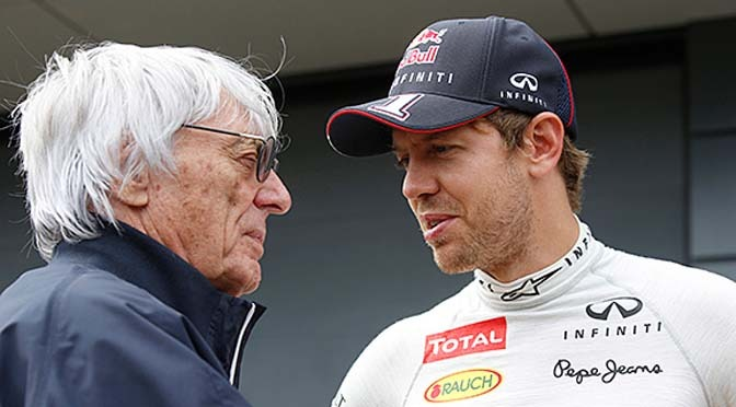 F1: supremo Bernie Ecclestone 'disappointed' in Sebastian Vettel