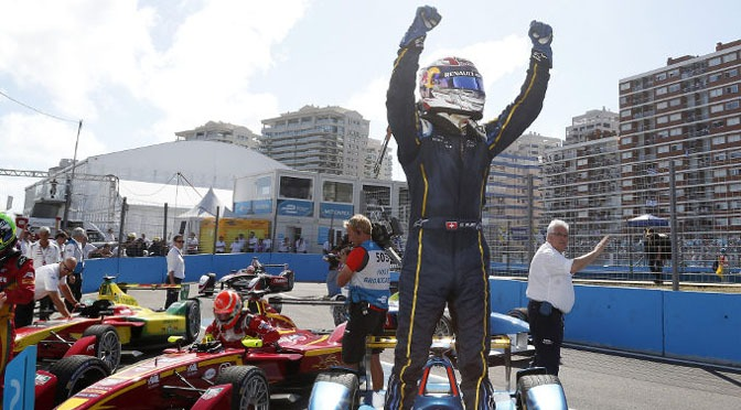 Formula E: Brilliant Buemi wins in Punta del Este