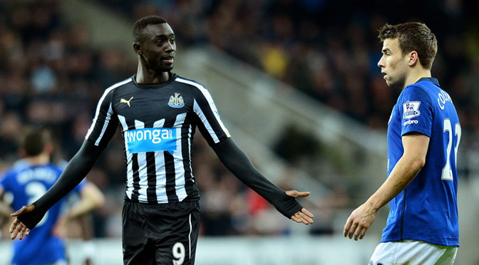 Premiership: Newcastle striker Papiss Cisse banned after accepting FA charge