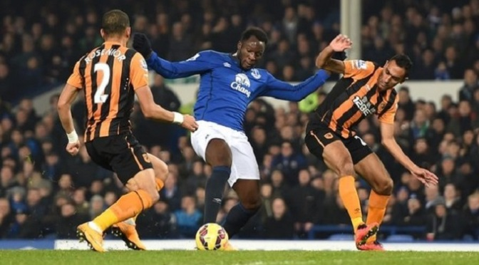 Premiership: Everton 1-1 Hull