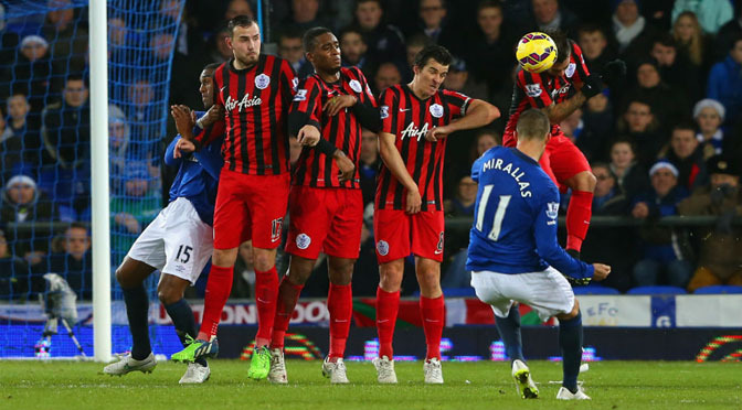 Premiership: Everton 3-1 QPR