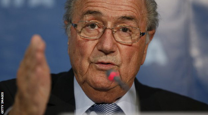 Football: FIFA and Sepp Blatter in secret talks about president's future