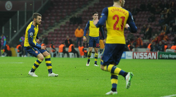 Champions League: Galatasaray 1-4 Arsenal