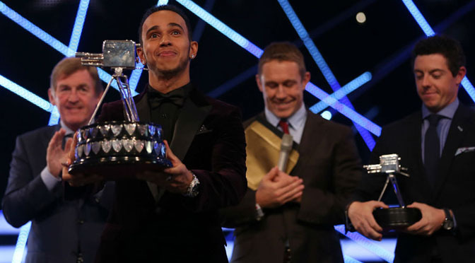 F1: Lewis Hamilton wins BBC Sports Personality of the Year 2014