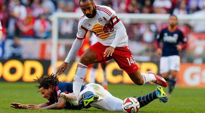 MLS: Arsenal link as Thierry Henry leaves Red Bulls