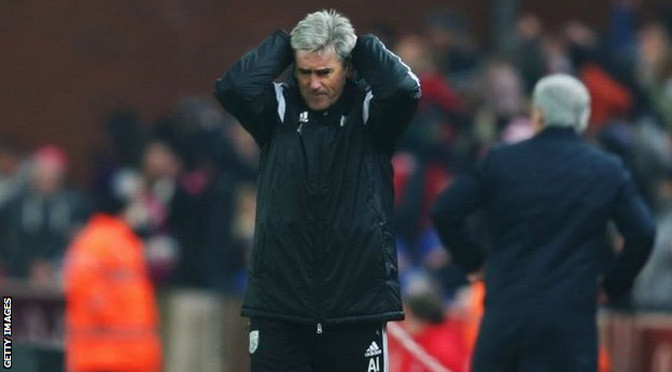 Premiership: West Brom sack manager Alan Irvine after Stoke defeat