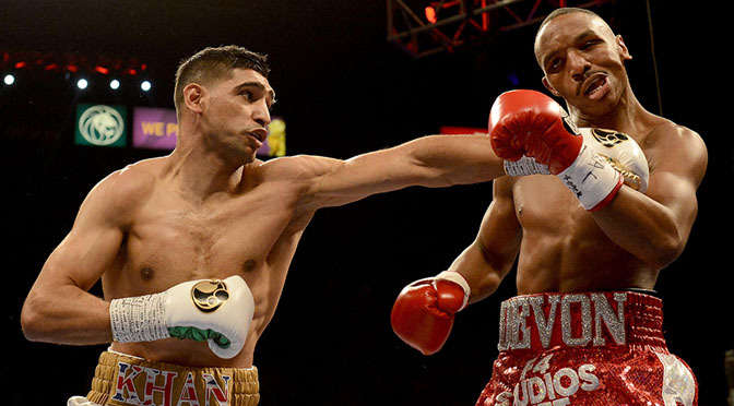 Boxing: Khan dominates Alexander in Vegas