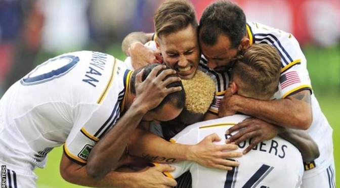 Football: MLS: LA Galaxy 2-1 New England Revolution