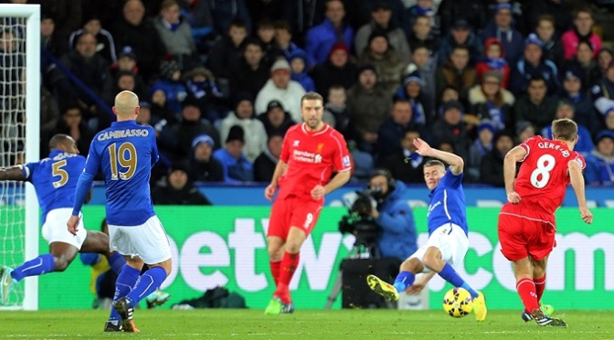 Premiership: Leicester 1-3 Liverpool