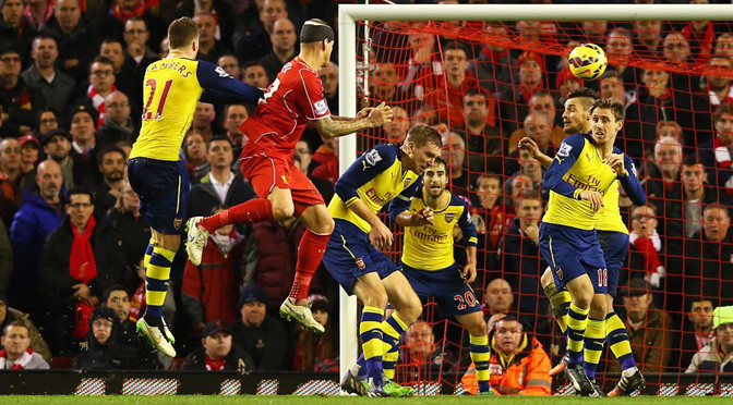 Premiership: Liverpool 2-2 Arsenal