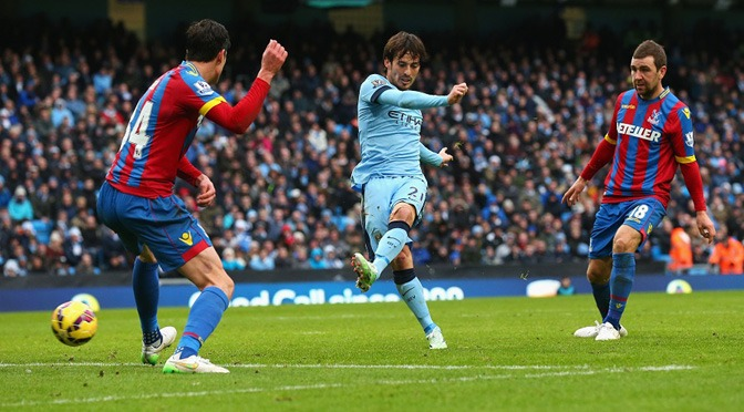 Premiership: Man City 3-0 Crystal Palace