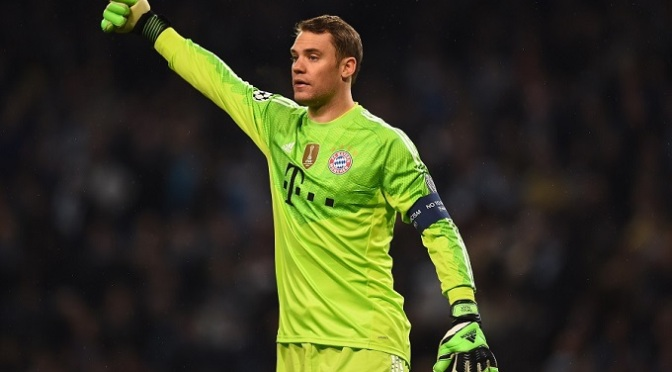 Football: Neuer joins Ronaldo and Messi on Ballon d'Or shortlist