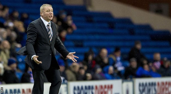 Football: Ally McCoist remains Rangers manager after meeting