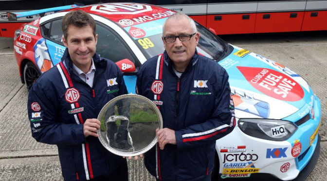 BTCC: MG to return 2015