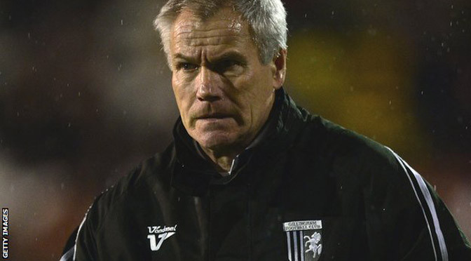 League 1: Gillingham sack manager Peter Taylor after 14 months in charge