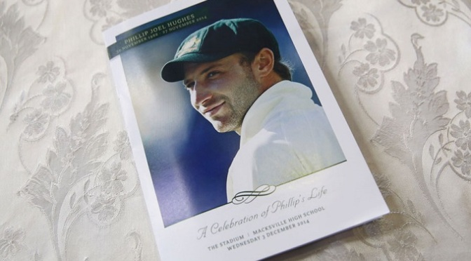 Cricket: Emotional farewell for Phillip Hughes