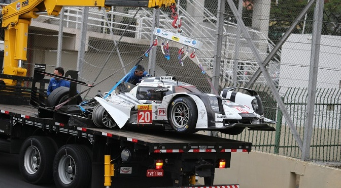 WEC: Mark Webber: 'pretty bruised' after Brazil crash
