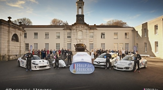 BTCC: New team launches in support of Help for Heroes