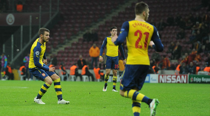 Premiership: Arsenal suffer Ramsey hamstring blow