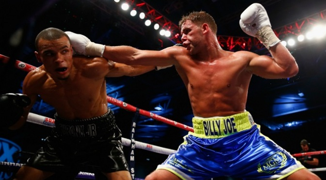 Boxing: Saunders earns split decision against Eubank Jr.