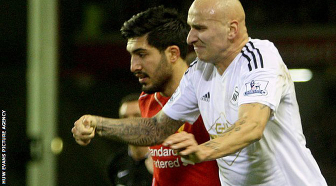 Premiership: Swansea's Jonjo Shelvey charged with violent conduct
