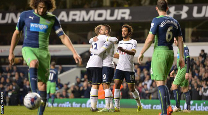 League Cup: Spurs 4-0 Newcastle