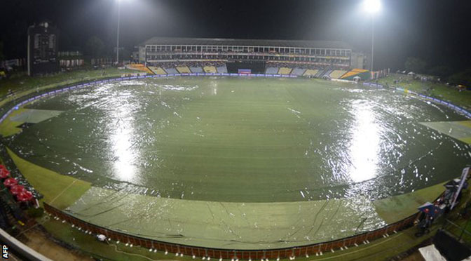 Cricket: Sri Lanka v England: Pallekele rain disrupts fifth one-dayer