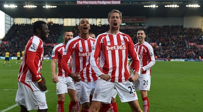 Premiership: Stoke 3-2 Arsenal
