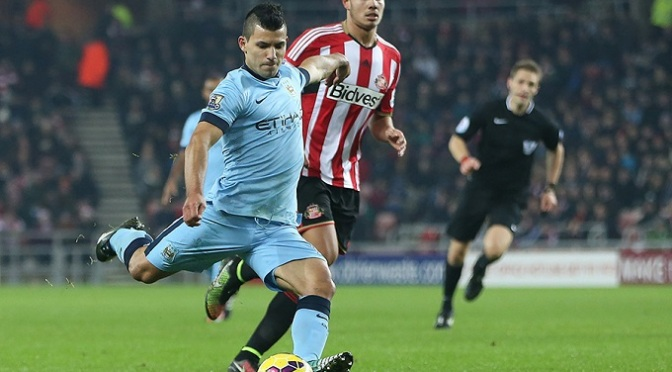 Premiership: Sunderland 1-2 Man City