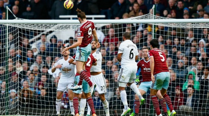 Premiership: West Ham 3-1 Swansea