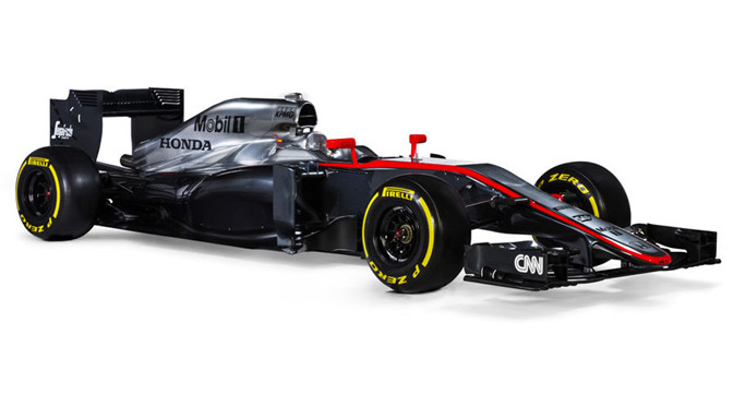 F1: McLaren launches new Honda powered MP4-30