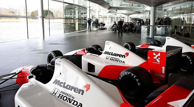 F1: Mercedes & McLaren to change colours in 2015