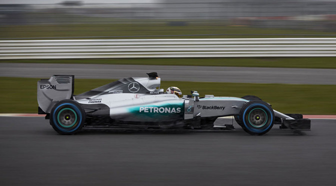 F1: Mercedes completes shakedown of 2015 car
