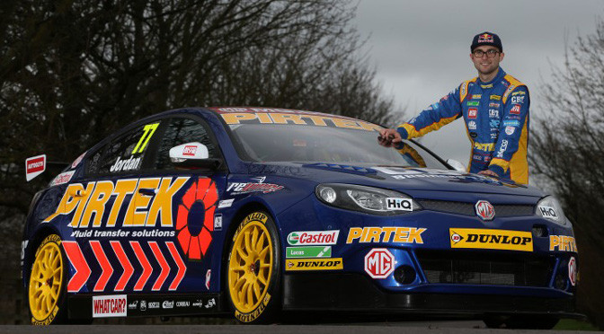 BTCC: Andrew Jordan joins works MG Triple Eight Squad