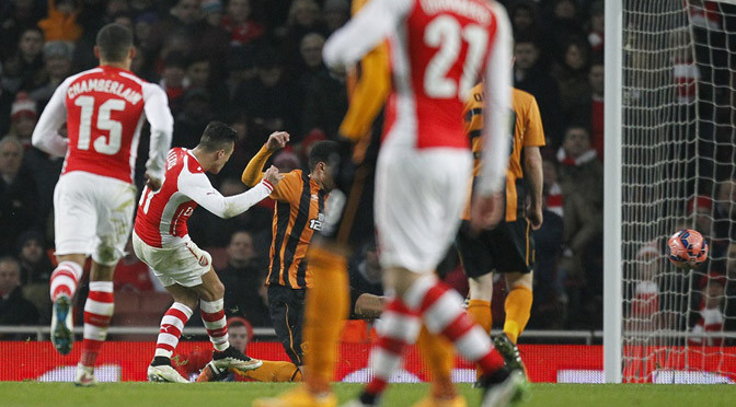 FA Cup: Arsenal 2-0 Hull