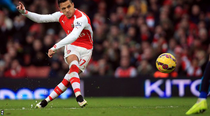 Premiership: Arsenal 3-0 Stoke