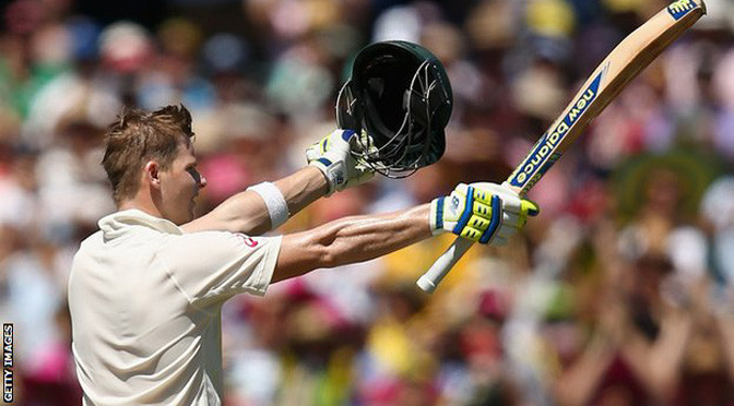 Cricket: Australia v India: Steve Smith scores fourth century of series