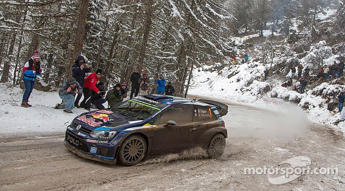 WRC: Ogier holds lead heading into final day in Monte Carlo